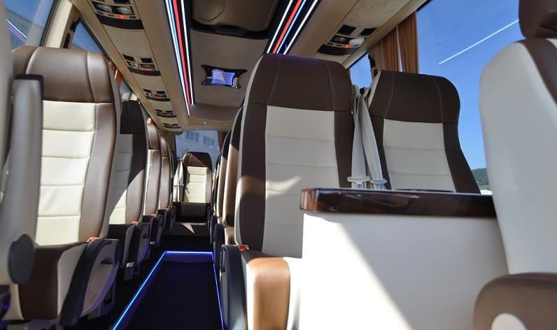 Germany: Coaches charter in Bavaria in Bavaria and Augsburg